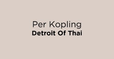 Per Kopling Detroit Of Thai