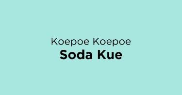 Koepoe Koepoe Soda Kue