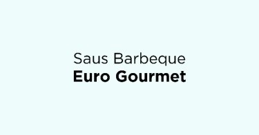 Saus Barbeque Euro Gourmet