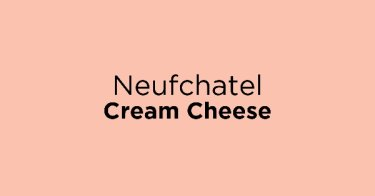 Neufchatel Cream Cheese