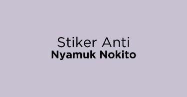 Stiker Anti Nyamuk Nokito