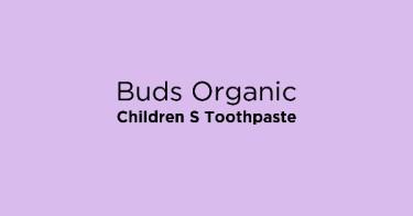 Buds Organic Children S Toothpaste