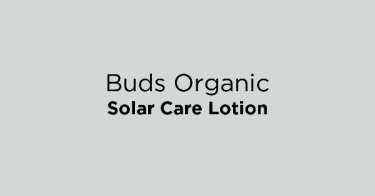 Buds Organic Solar Care Lotion