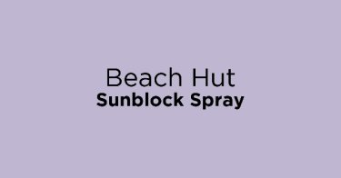 Beach Hut Sunblock Spray