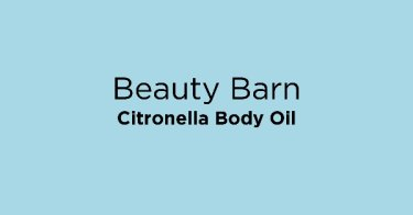 Beauty Barn Citronella Body Oil