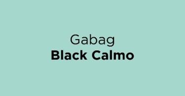 Gabag Black Calmo