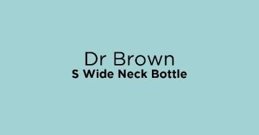 Dr Brown S Wide Neck Bottle