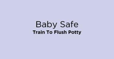 Baby Safe Train To Flush Potty