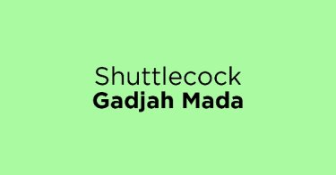 Shuttlecock Gadjah Mada