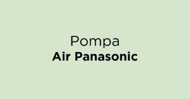 Pompa Air Panasonic