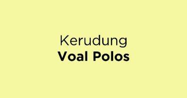 Kerudung Voal Polos