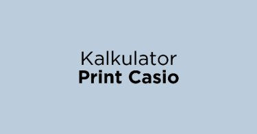 Kalkulator Print Casio