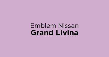Emblem Nissan Grand Livina