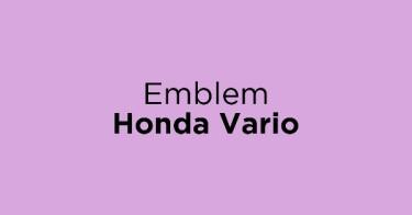 Emblem Honda Vario