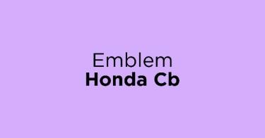 Emblem Honda Cb