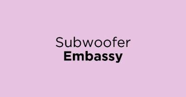 Subwoofer Embassy