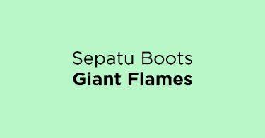 Sepatu Boots Giant Flames