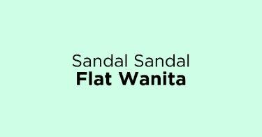 Sandal Sandal Flat Wanita Kabupaten Tangerang