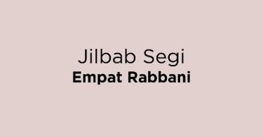 Jilbab Segi Empat Rabbani