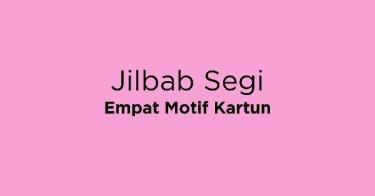 Jilbab Segi Empat Motif Kartun DKI Jakarta