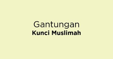 Gantungan Kunci Muslimah