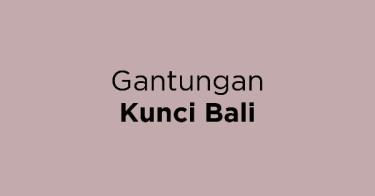Gantungan Kunci Bali