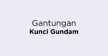 Gantungan Kunci Gundam