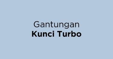 Gantungan Kunci Turbo