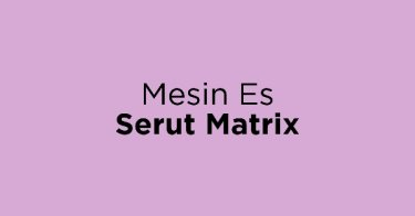 Mesin Es Serut Matrix