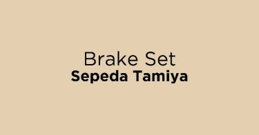 Brake Set Sepeda Tamiya