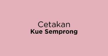 Cetakan Kue Semprong