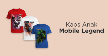 Kaos Anak Mobile Legend
