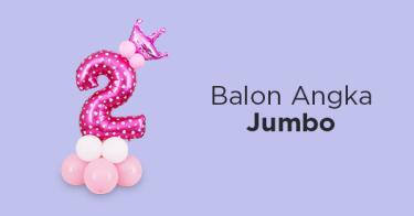 Balon Angka Jumbo