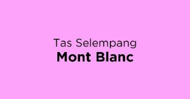 Jual Tas Selempang Mont Blanc - Beli Harga Terbaik  4669af4ba2