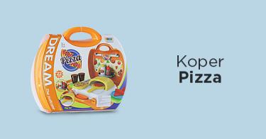 Mainan Koper Pizza