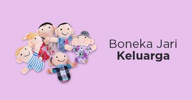 Jual Boneka Jari Keluarga dengan Harga Terbaik dan Terlengkap