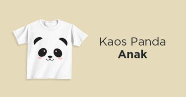 Kaos Panda Anak