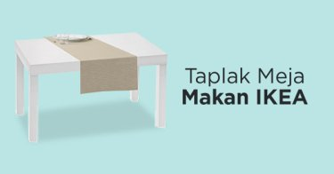 Taplak Meja Makan IKEA