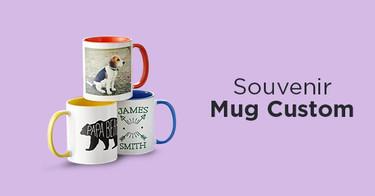 Jual Souvenir Mug Custom dengan Harga Terbaik dan Terlengkap