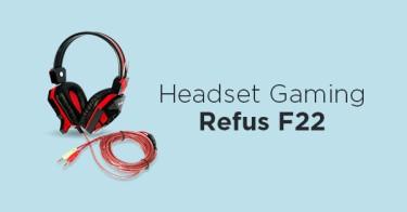 Jual Headset Gaming Rexus F22 dengan Harga Terbaik dan Terlengkap
