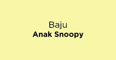Baju Anak Snoopy