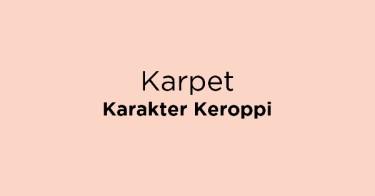 Karpet Karakter Keroppi