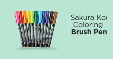 Koi Coloring Brush Pen Bandung