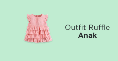 Outfit Ruffle Anak