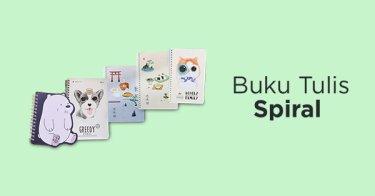 Buku Tulis Spiral Jakarta Utara