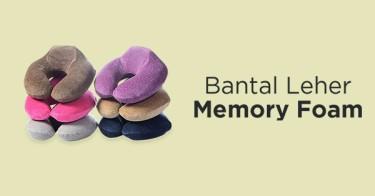 Bantal Leher Memory Foam