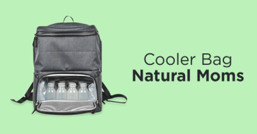 Cooler Bag Natural Moms