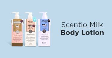 Scentio Milk Body Lotion