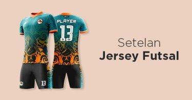 Setelan Jersey Futsal Lampung