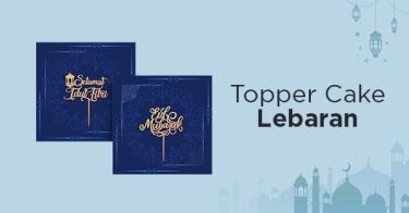 Topper Cake Lebaran